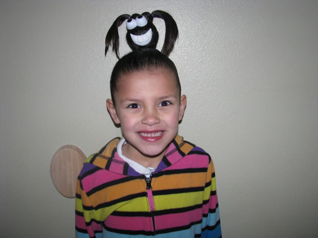 Zoe said kalixta had the best hair in the school